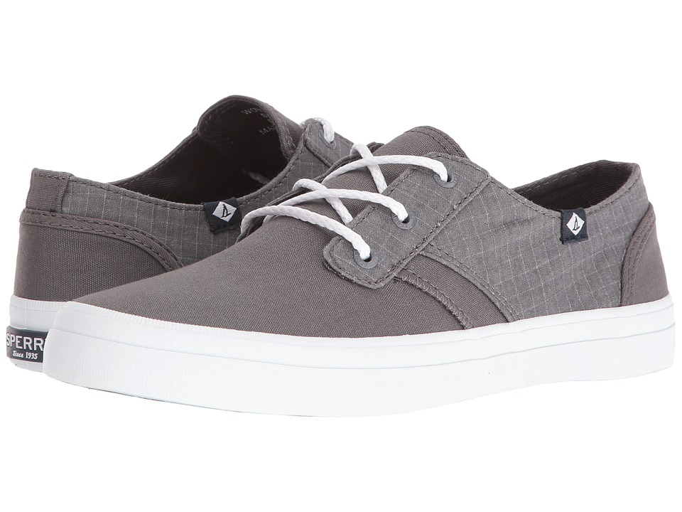 Sperry Top-Sider - Crest Rider Canvas (Grey) Women's Lace up casual Shoes
