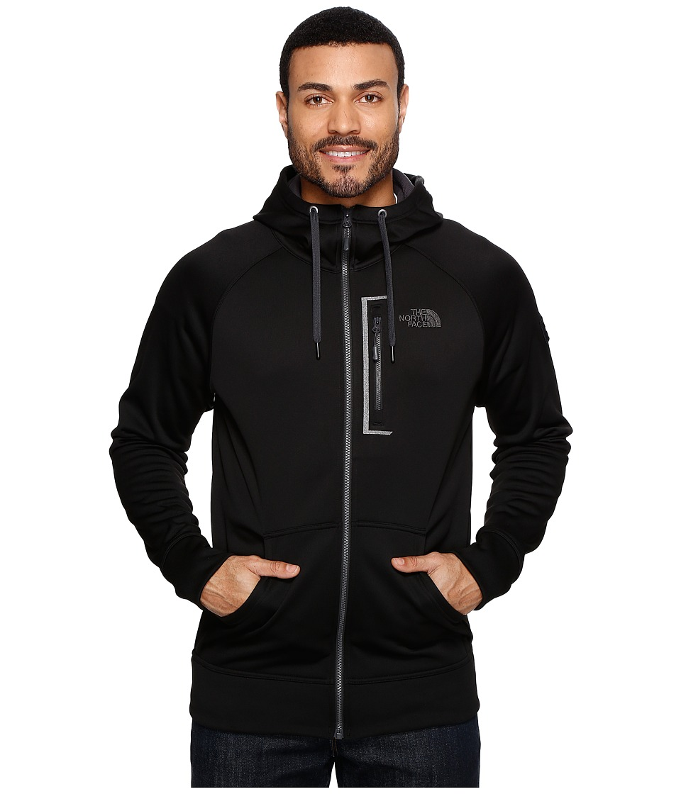 The North Face - Mack Mays Full Zip Hoodie (TNF Black/TNF Black 1 (Prior Season)) Men's Sweatshirt