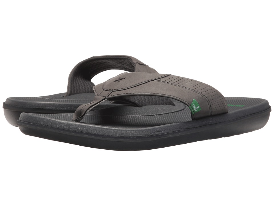Sanuk - Bandito (Charcoal) Men's Sandals