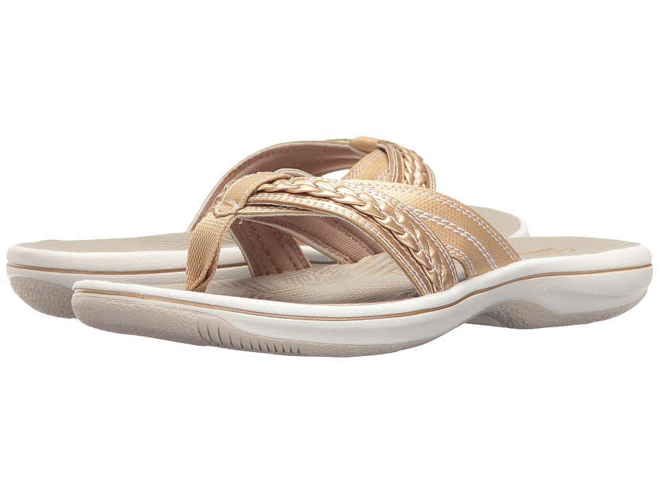 Clarks Brinkley Nora (Gold) Women
