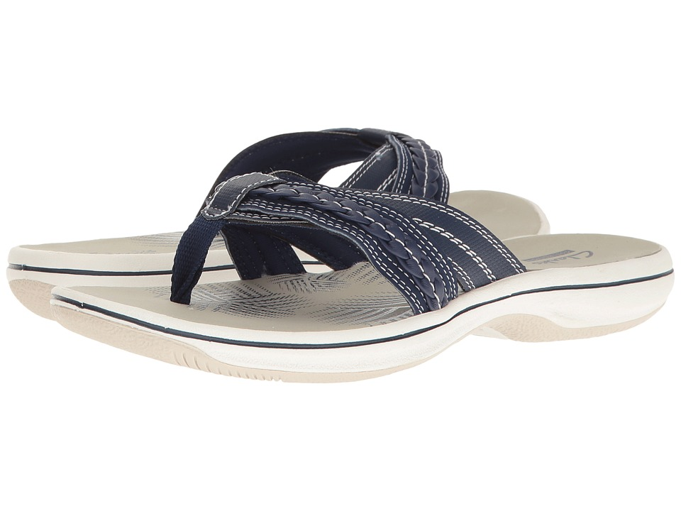 Clarks Brinkley Nora (Navy) Women