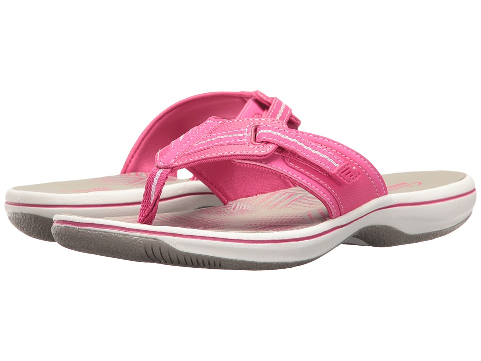 Clarks - Brinkley Jazz (Pink Synthetic) Women's Shoes