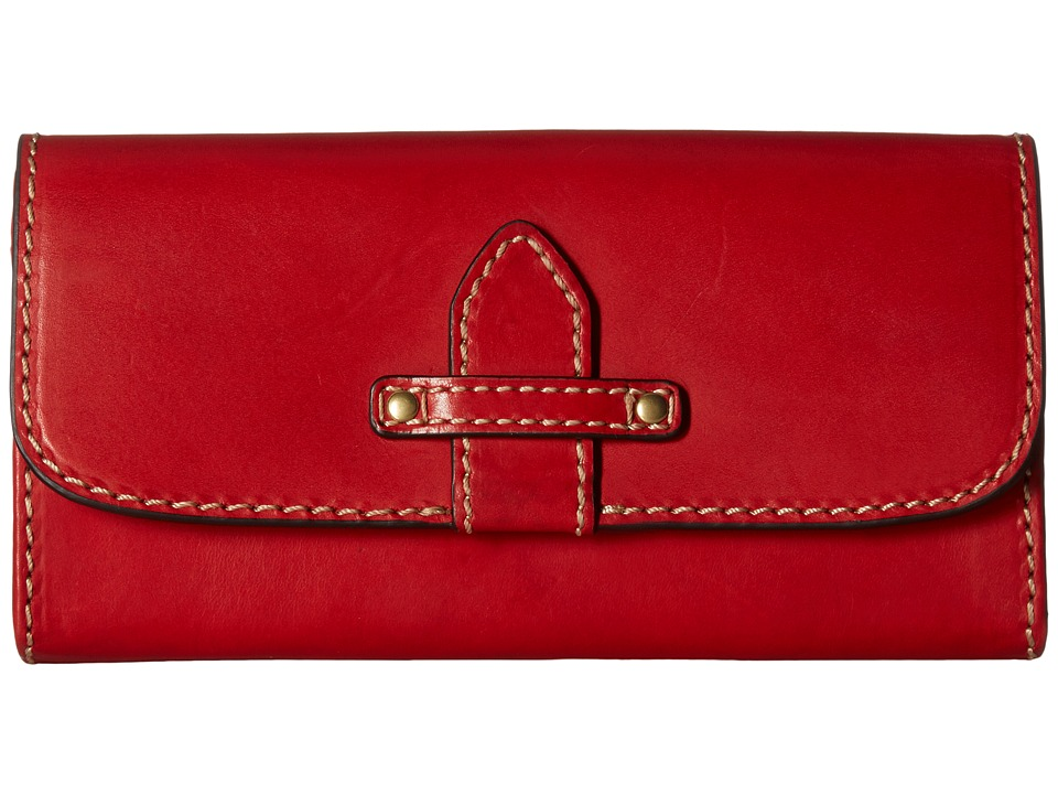 Frye - Casey Wallet (Red) Wallet