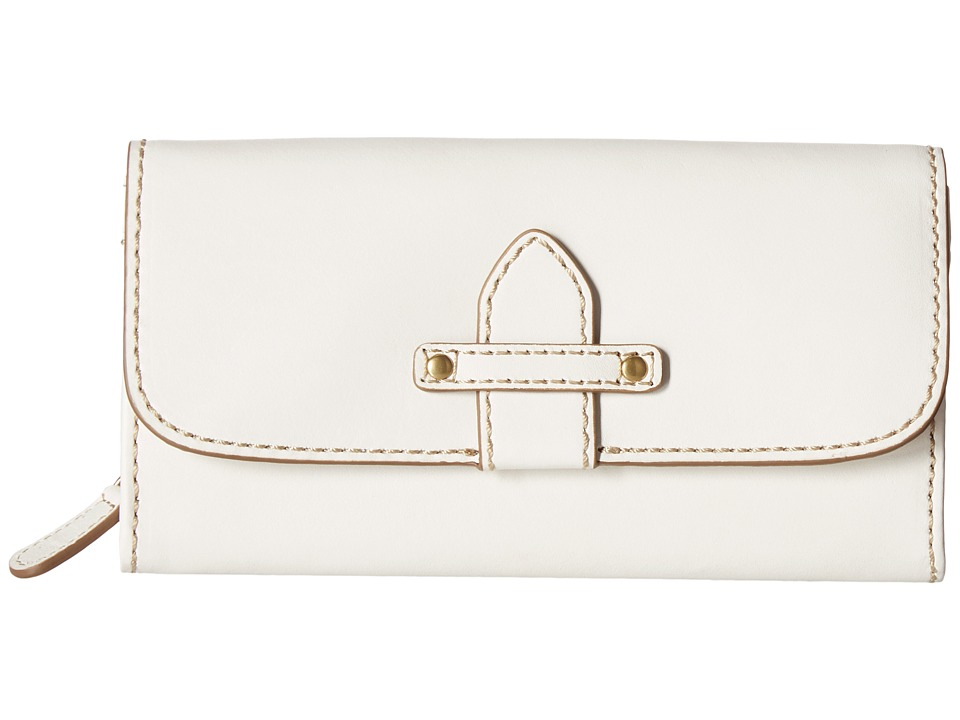 Frye - Casey Wallet (White) Wallet