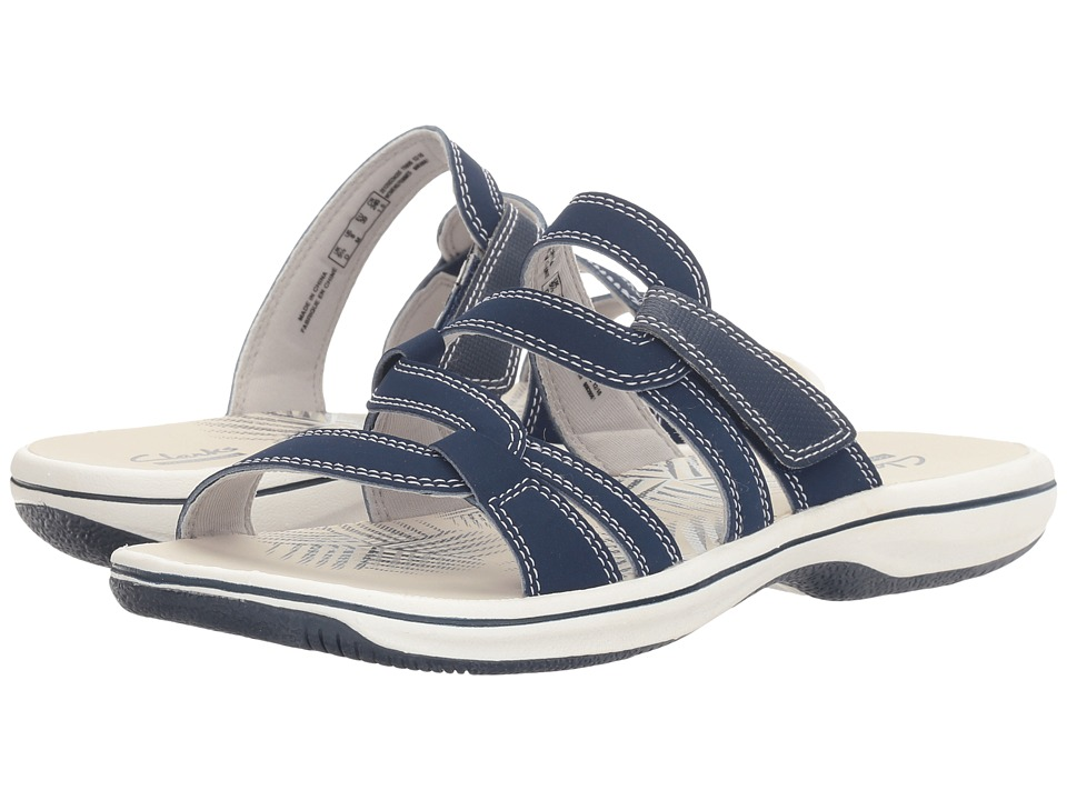 Clarks Brinkley Lonna (Navy) Women
