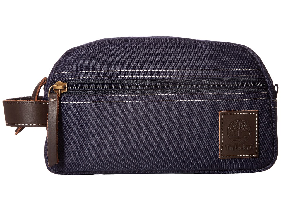 Timberland - Canvas Travel Kit (Navy 1) Travel Pouch