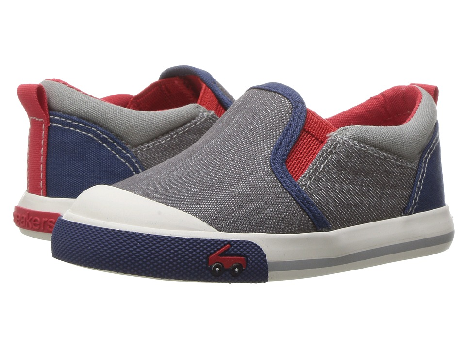 See Kai Run Kids Slater (Toddler) (Gray) Boys Shoes