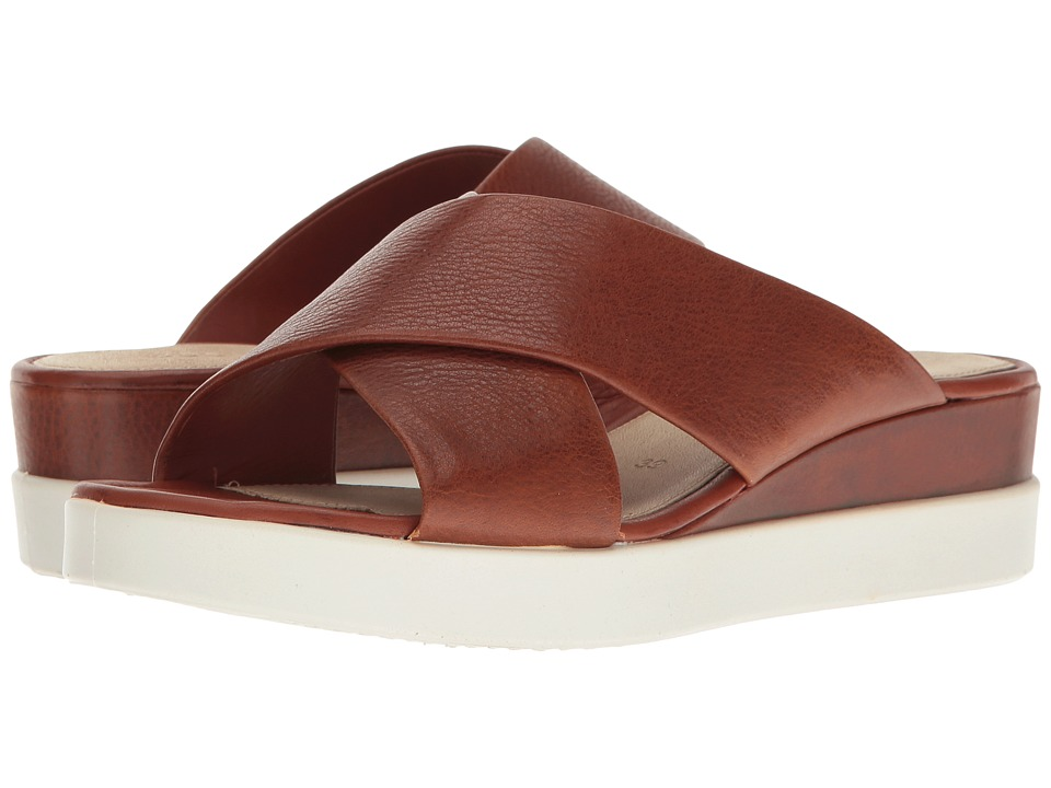 ECCO - Touch Slide Sandal (Lion Cow Leather) Women's Sandals