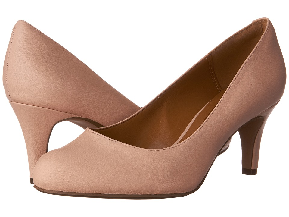 Clarks Arista Abe (Blush Pink Leather) Women