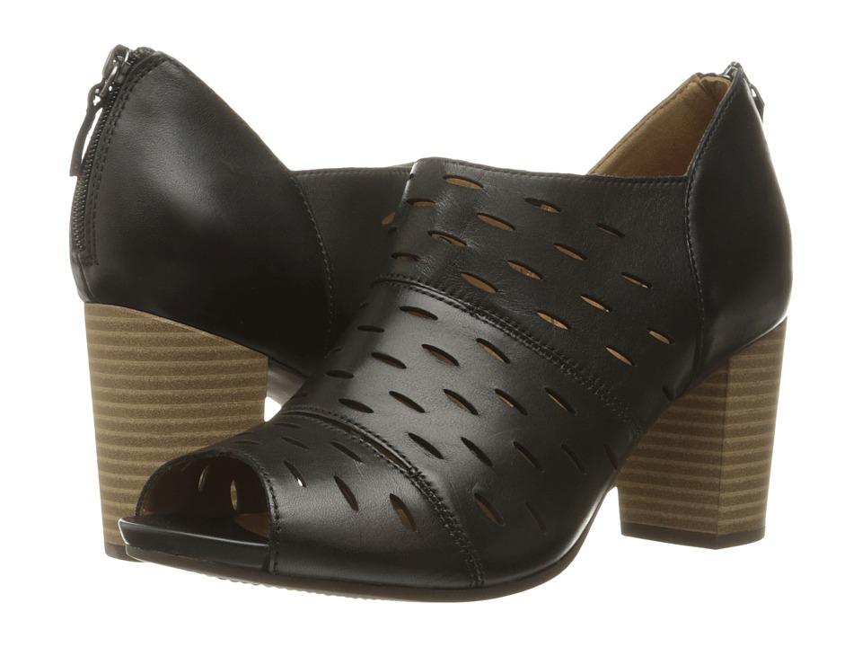 Clarks Banoy Takala (Black Leather) Women