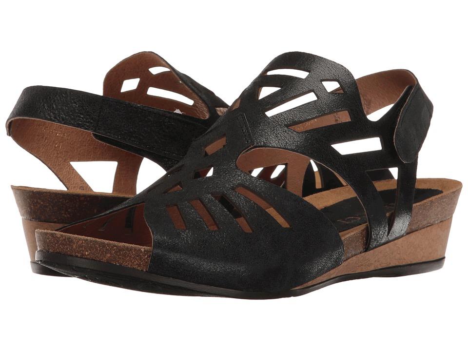 Sesto Meucci - Sana (Black Polvere) Women's Sandals