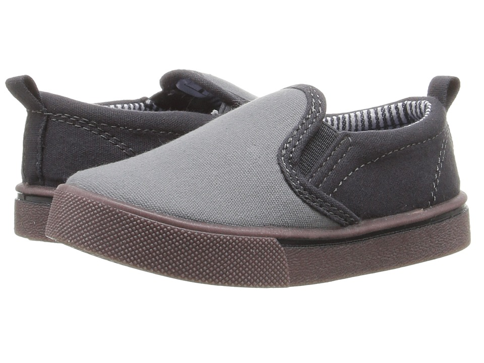OshKosh - Austin 3 (Toddler/Little Kid) (Grey) Boy's Shoes