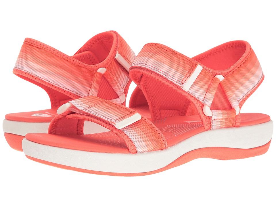 Clarks - Brizo Ravena (Coral) Women's Shoes