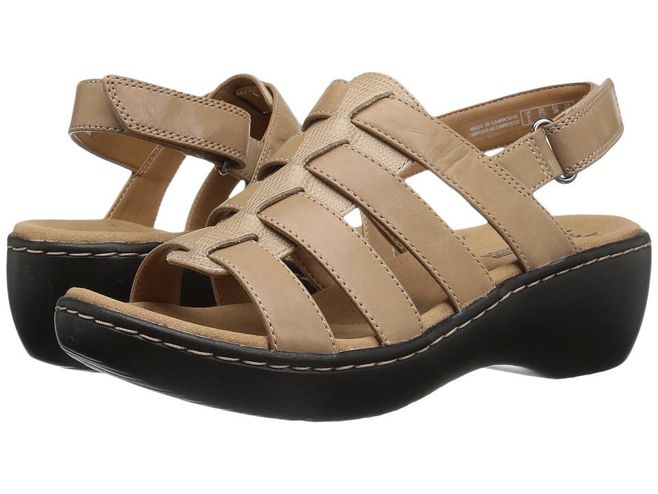 Clarks - Delana Maloren (Sand Leather) Women's Shoes