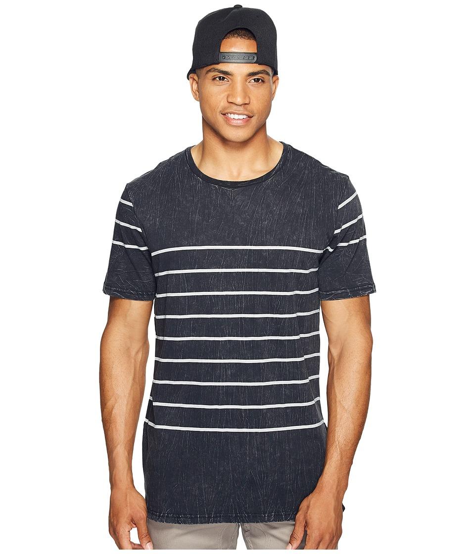 Globe - Moonshine Tee (Acid Black) Men's T Shirt