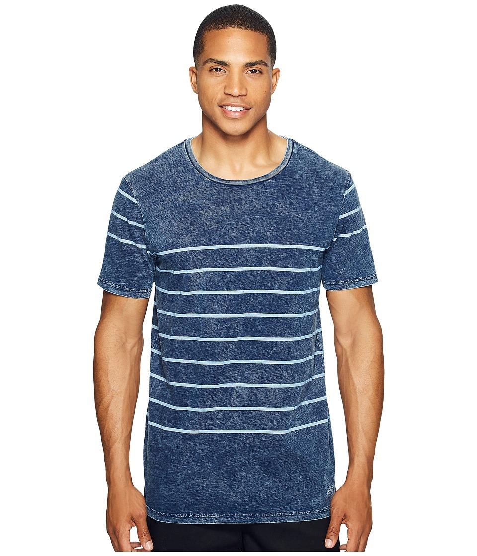 Globe - Moonshine Tee (Indigo Acid) Men's T Shirt