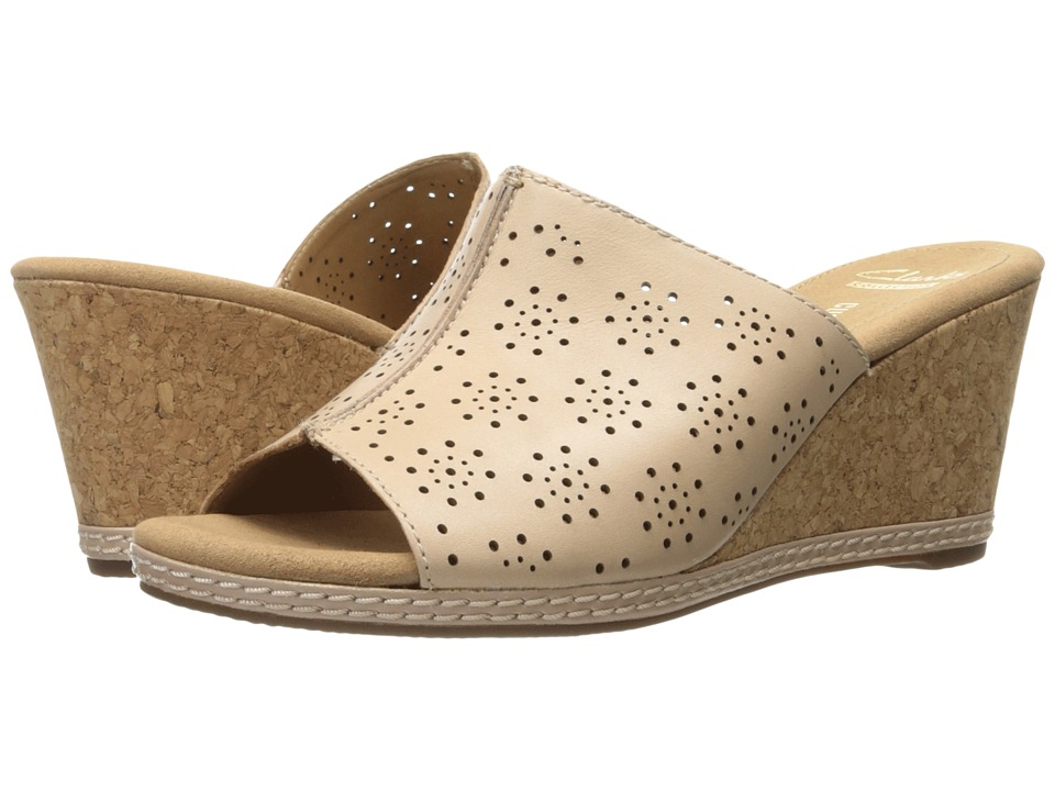 Clarks - Helio Corridor (Nude Leather) Women's Shoes