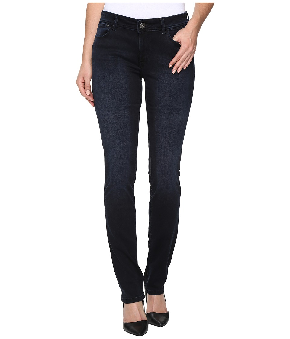 DL1961 Coco Curvy Slim Straight in Kinetic (Kinetic) Women