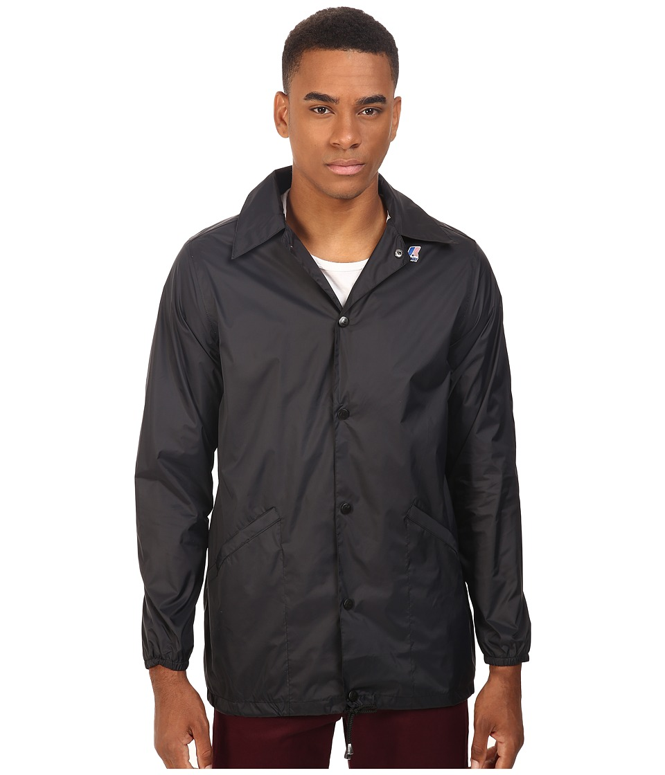 K-WAY - Raoul Coach Jacket (Black) Men's Coat