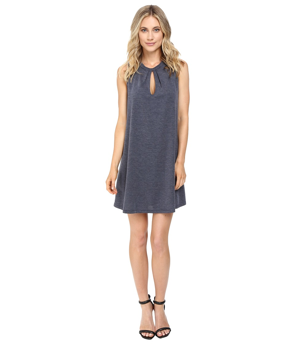 Brigitte Bailey - Bayle Sleeveless Keyhole Dress (Navy) Women's Dress