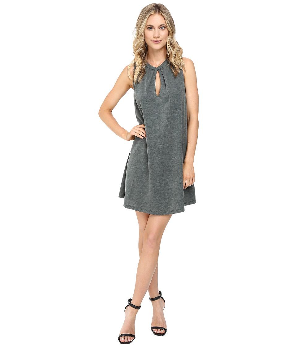Brigitte Bailey Bayle Sleeveless Keyhole Dress (Olive) Women