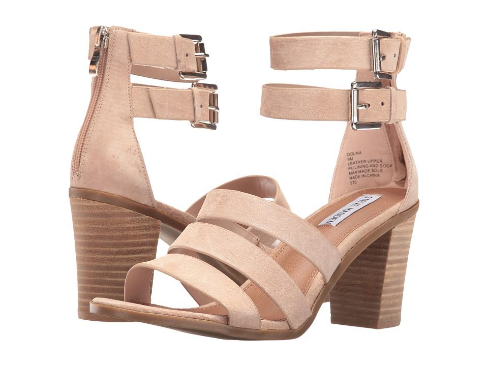Steve Madden - Dolma (Nude Suede) Women's Sandals