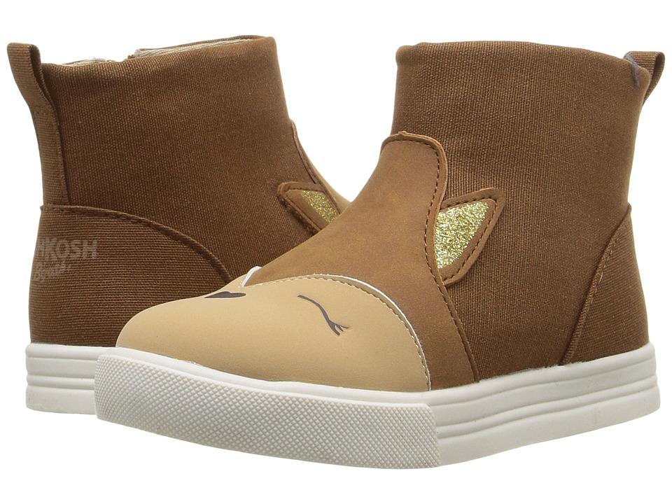 OshKosh - Foxy (Toddler/Little Kid) (Brown) Girl's Shoes
