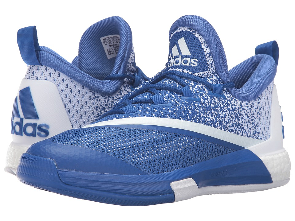 adidas - SM On Court Crazylight Boost 2 (Blue/White/Blue) Men's Shoes