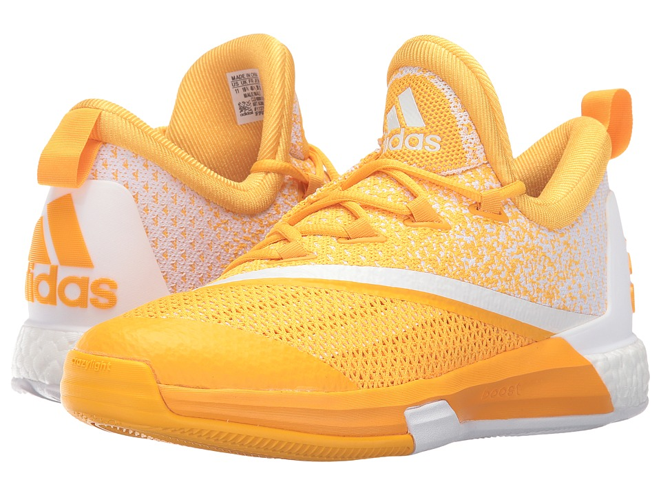 adidas - SM On Court Crazylight Boost 2 (Gold/White/Gold) Men's Shoes