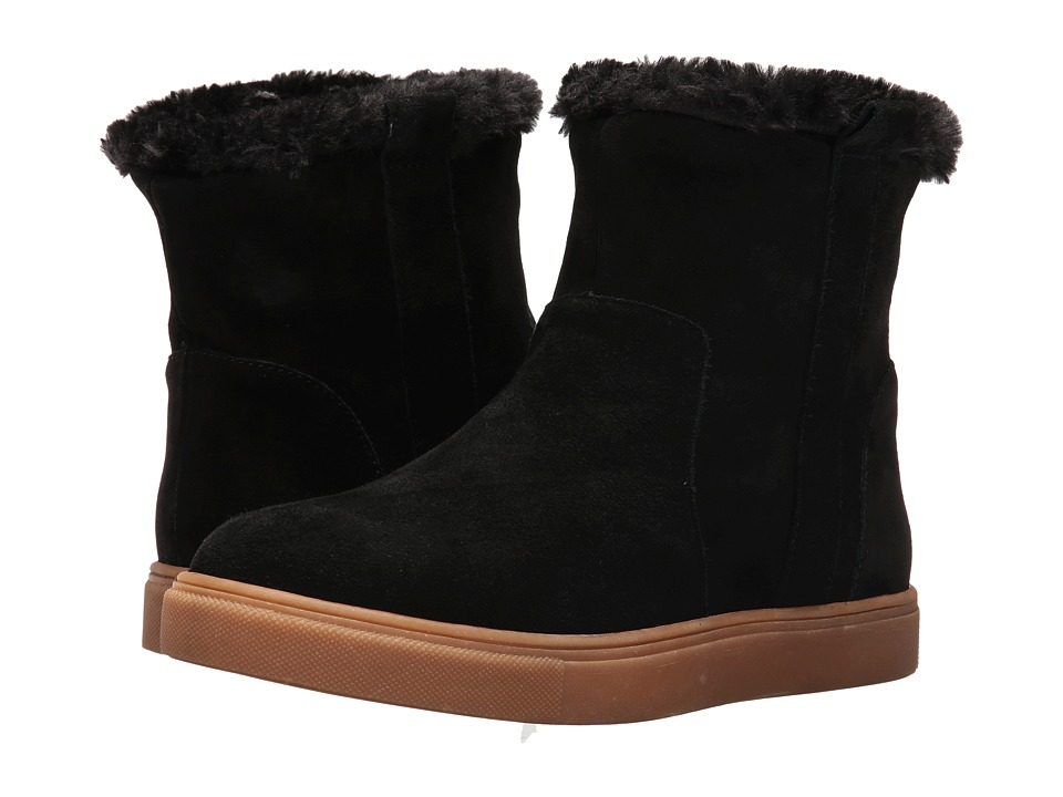 Steve Madden - Grizlyy (Black Suede) Women's Boots