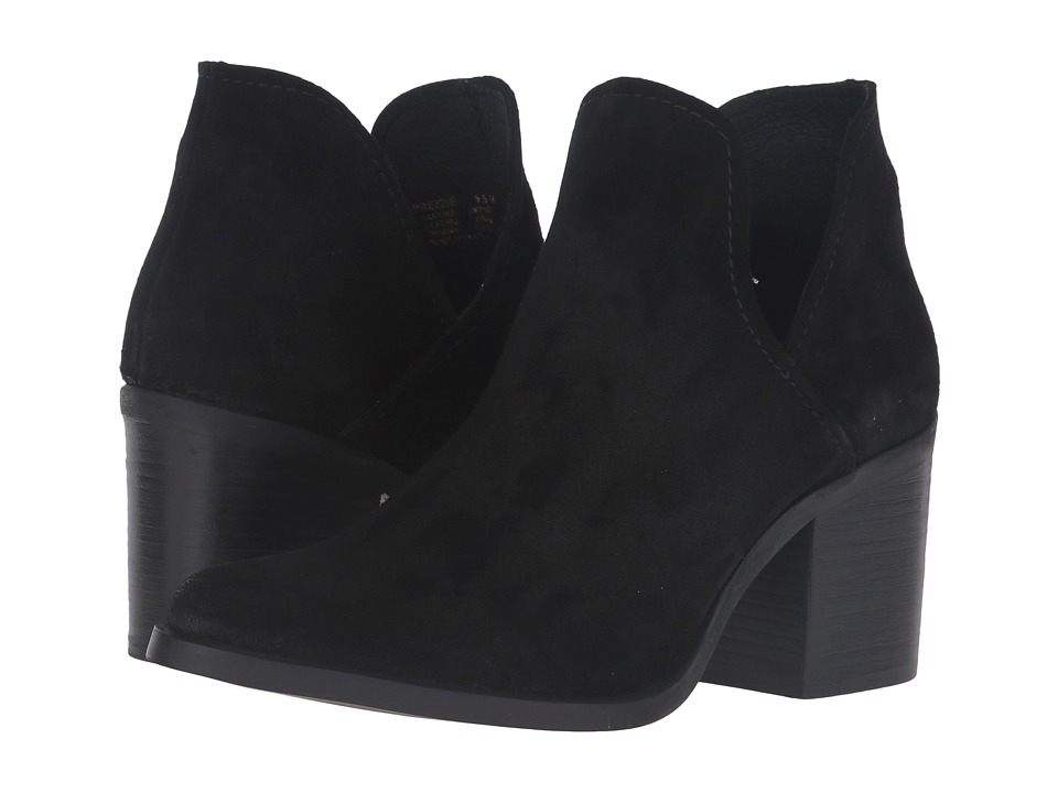 Steve Madden - Prezzie (Black Suede) Women's Boots