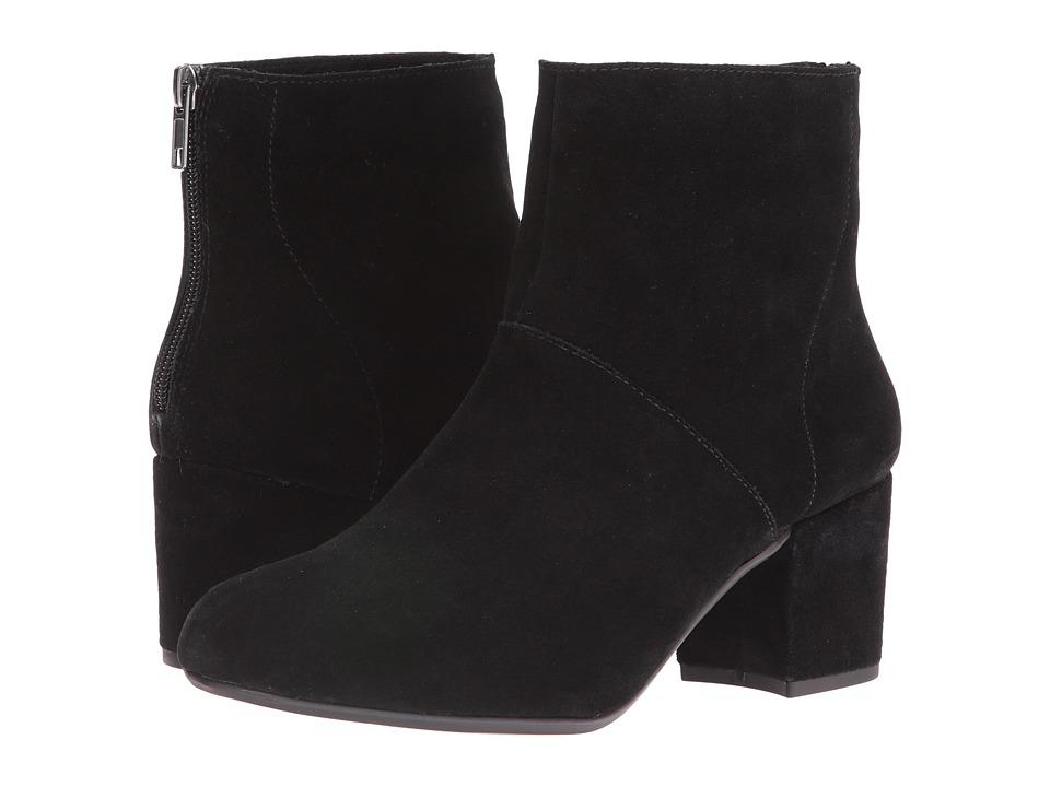 Steve Madden Halford Black Suede Boots