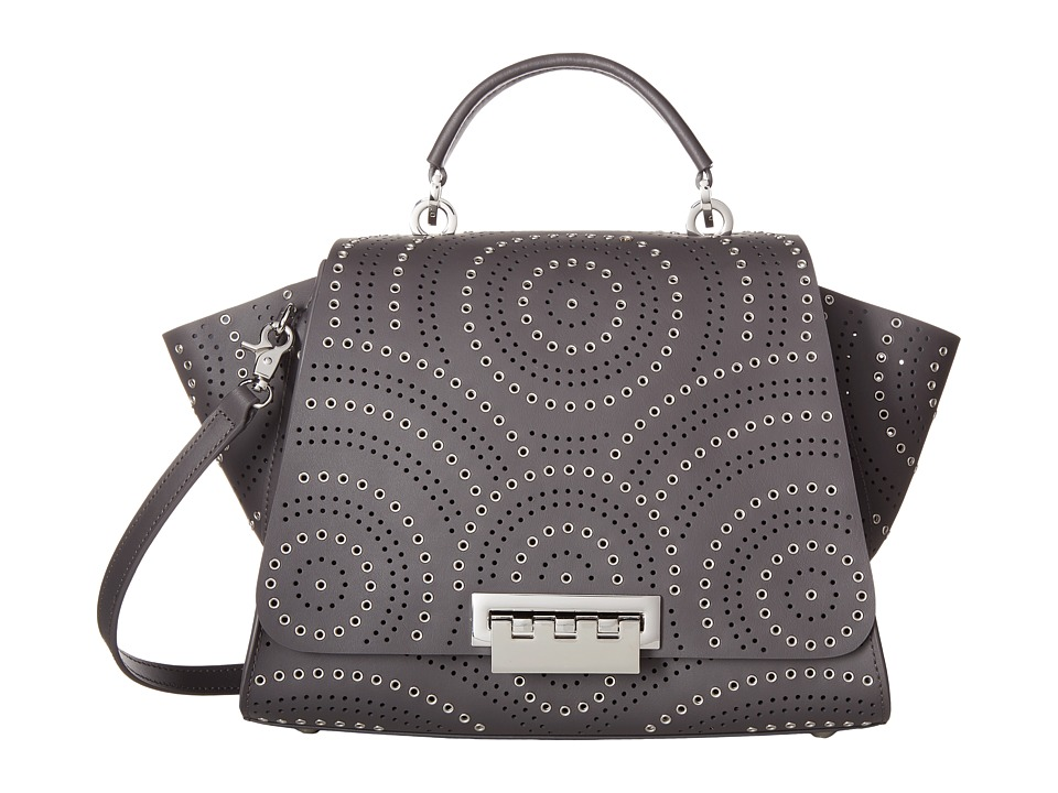 ZAC Zac Posen - Eartha Iconic Soft Top-Handle (Gray) Top-handle Handbags