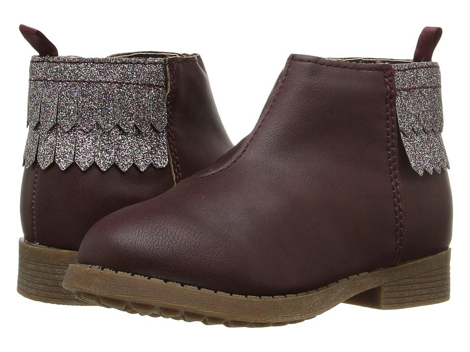 OshKosh - Violet (Toddler/Little Kid) (Burgundy) Girls Shoes