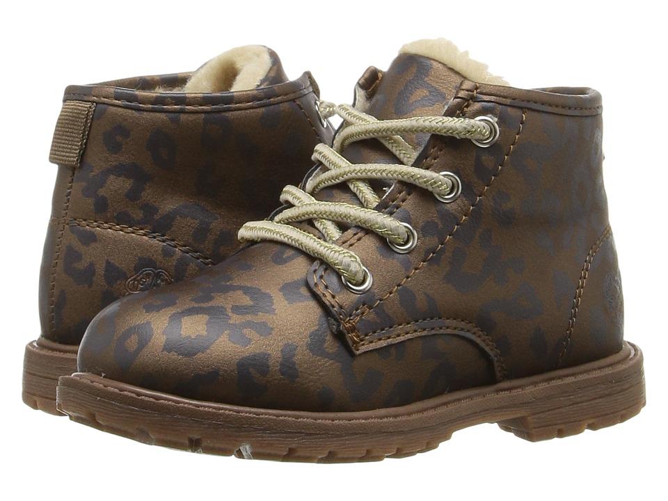 OshKosh - Monica (Toddler/Little Kid) (Brown) Girls Shoes