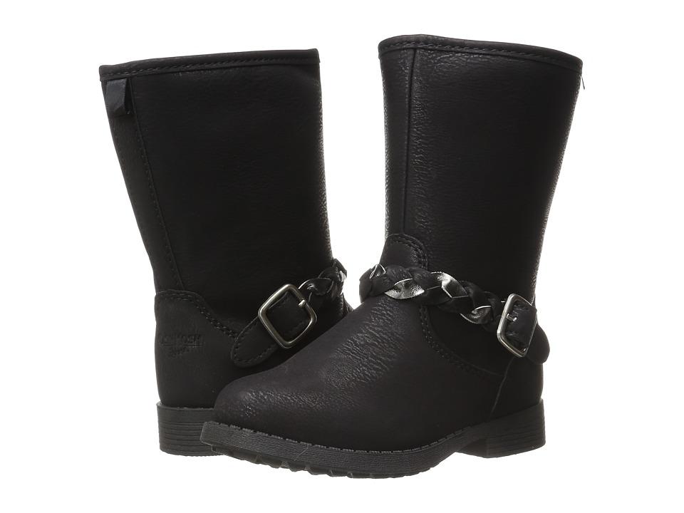 OshKosh - Reese 2 (Toddler/Little Kid) (Black) Girls Shoes