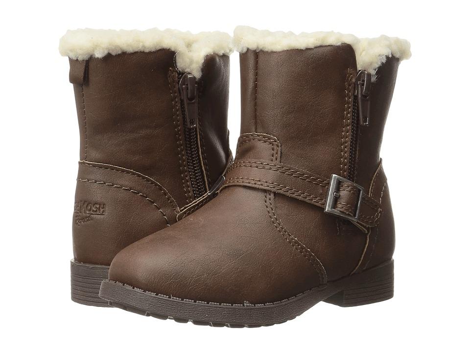 OshKosh - Megan (Toddler/Little Kid) (Brown) Girls Shoes