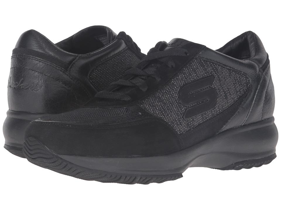 SKECHERS - Activate (Black) Women's Lace up casual Shoes