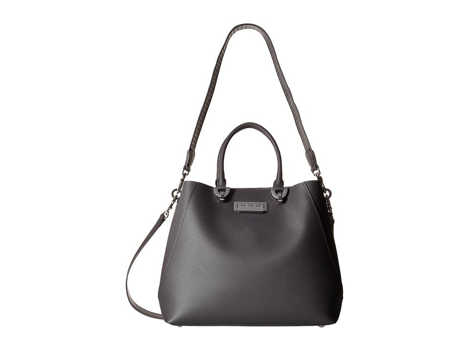 ZAC Zac Posen - Eartha Satchel (Gray) Satchel Handbags