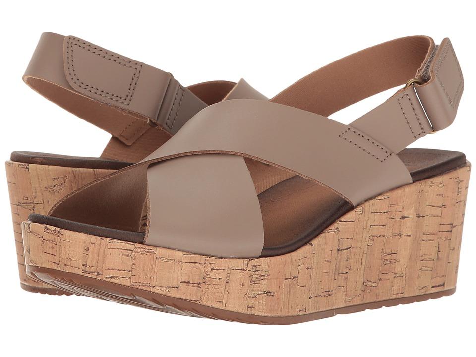Clarks - Stasha Hale 4 (Pebble) Women's Shoes