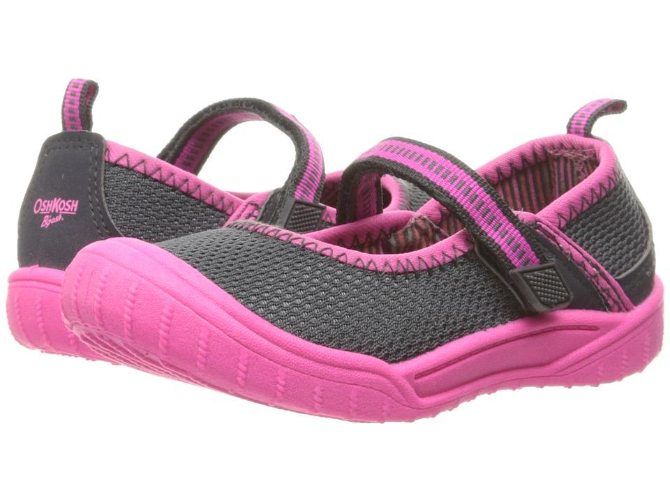 OshKosh - Luna (Toddler/Little Kid) (Grey/Pink) Girls Shoes