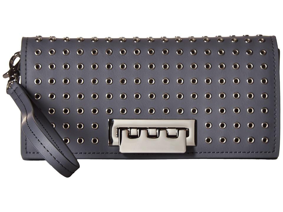 ZAC Zac Posen - Earthette Wristlet Wallet (Elephant) Wallet Handbags