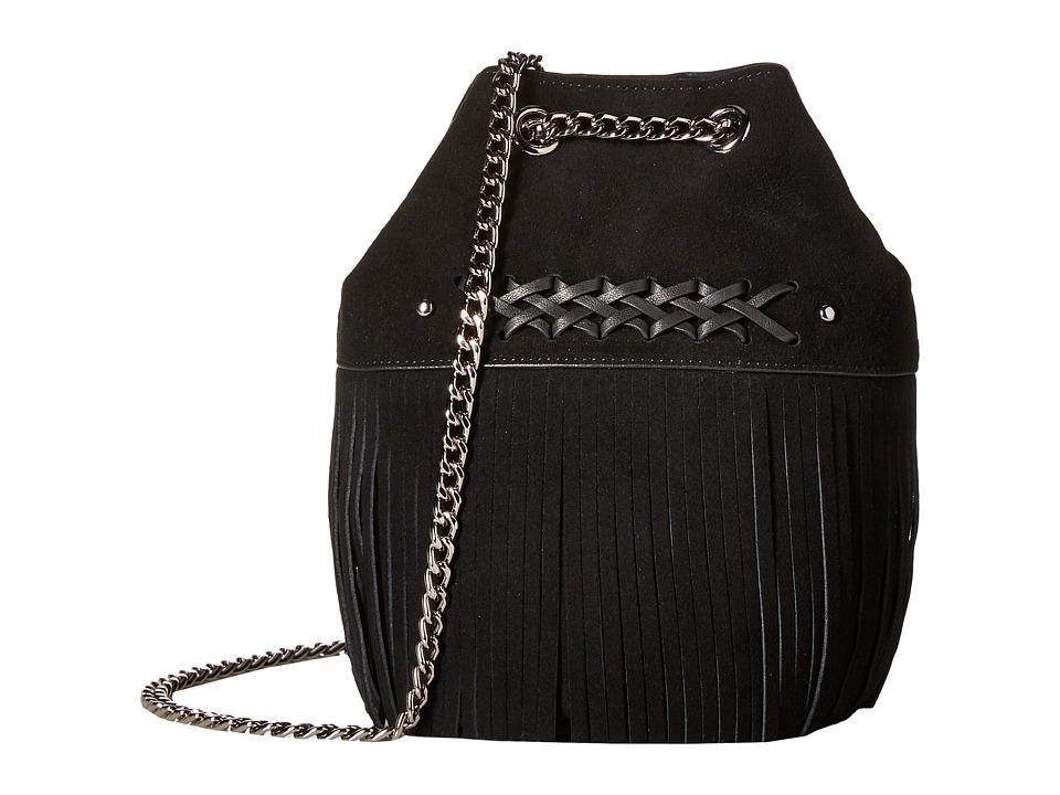 LAUREN Ralph Lauren - Barton Eloise Mini Drawstring (Black) Drawstring Handbags