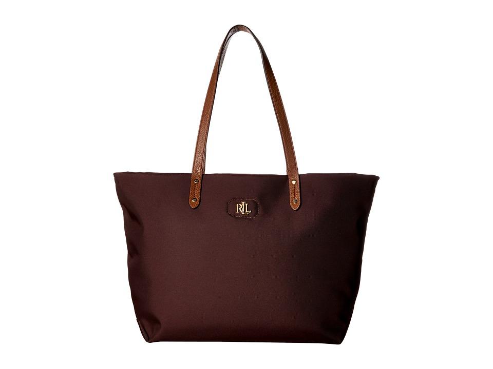 LAUREN Ralph Lauren - Bainbridge Tote (Claret) Tote Handbags