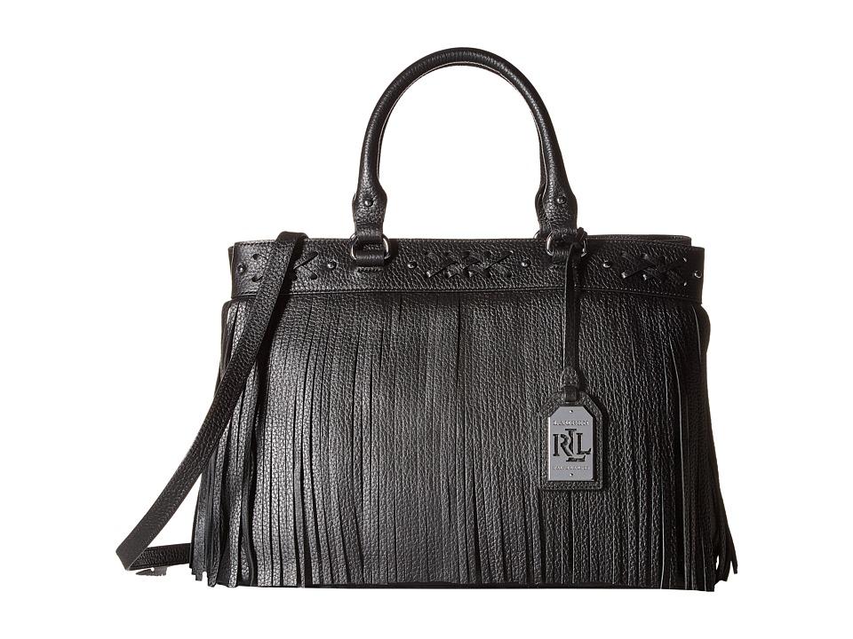 LAUREN Ralph Lauren - Barton Emery Tote (Black) Tote Handbags