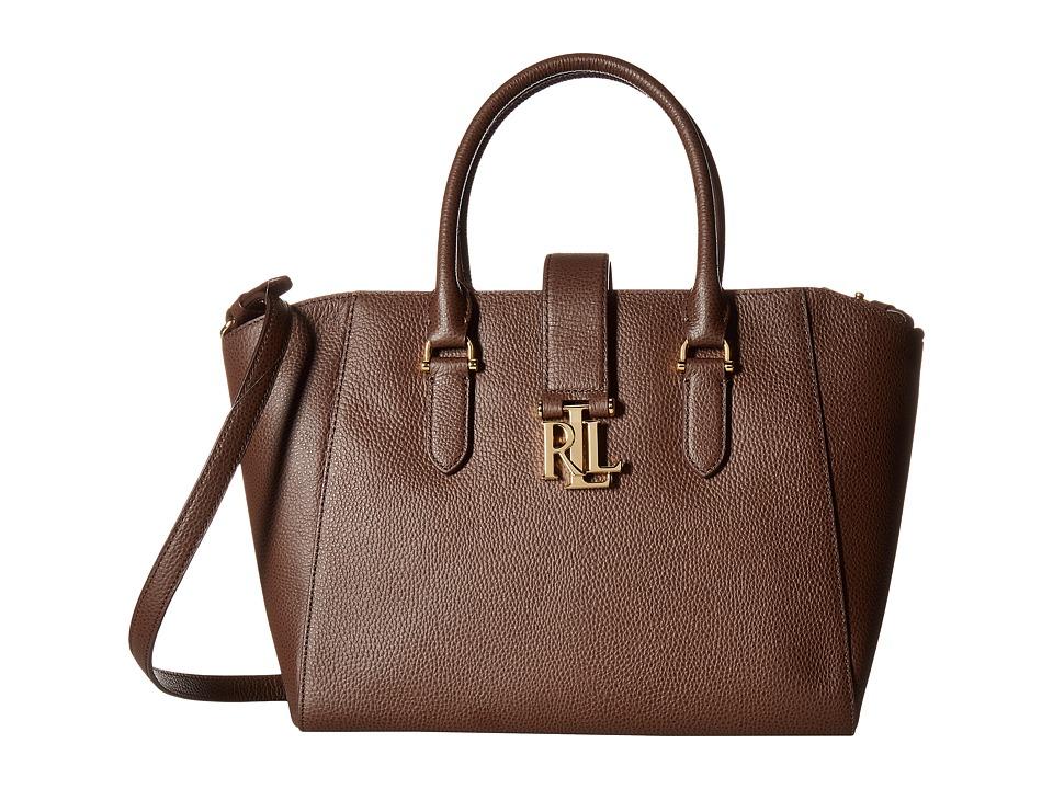 LAUREN Ralph Lauren - Carrington Bethany Shopper (Burnished Brown) Handbags