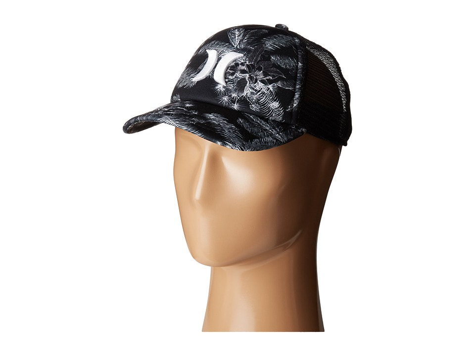 Hurley - Colin Trucker Hat (Black) Caps