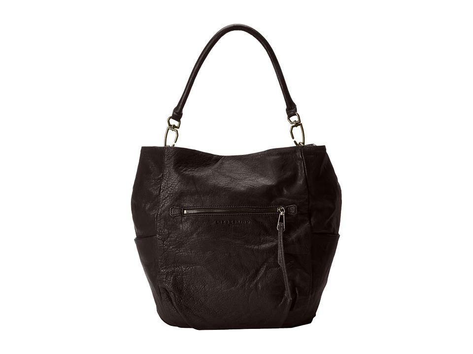 Liebeskind - Jeany E (Bittersweet Brown) Handbags