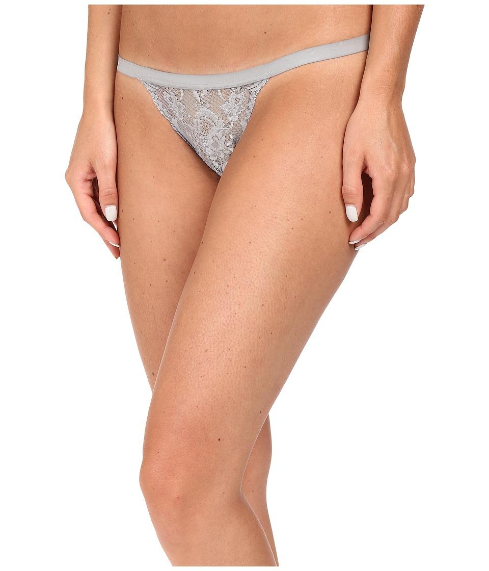 Cosabella - Never Say Never Skimpie G-String (Dove Gray) Women's Underwear