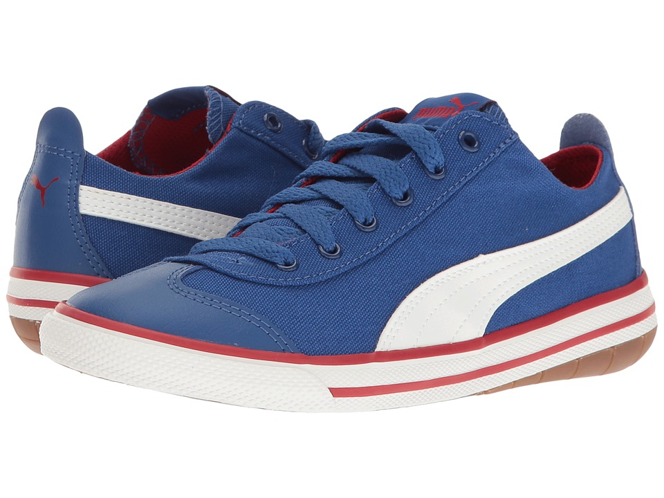 Puma Kids 917 FUN PS (Little Kid/Big Kid) (True Blue/Puma White) Boys Shoes